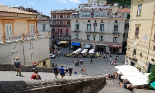 Zdjecie WłOCHY / Campania / Amalfi / Piazza w Amalfi