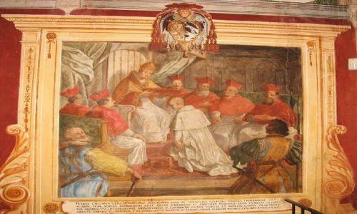 Zdjecie WłOCHY / Toskania / Monte Oliveto Maggiore / II