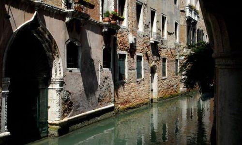 Zdjecie WłOCHY / Wenecja / Wenecja / Zaciszny kanal