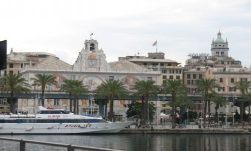 Zdjecie WłOCHY / brak / Genua, port / Genua - raj na Ziemi