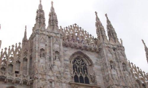 Zdjecie WłOCHY / brak / Mediolan / jescze raz katedra w Mediolanie