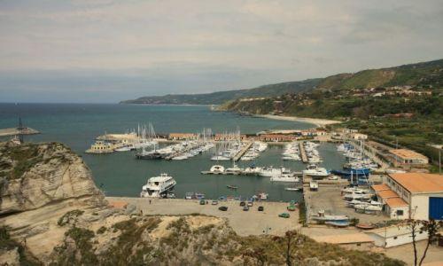 Zdjecie WłOCHY / południowo-zachodnia Kalabria / widok na port / Calabria - Tropea