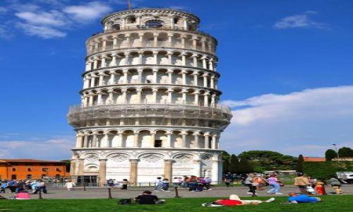 Zdjecie WłOCHY / Toscana / Pisa / wieza
