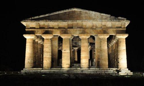 Zdjecie WłOCHY / Kampania / Paestum / Świątynia Posejdona