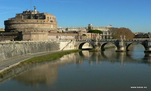 WłOCHY / brak / Rzym / Rzym Zamek Św. Anioła