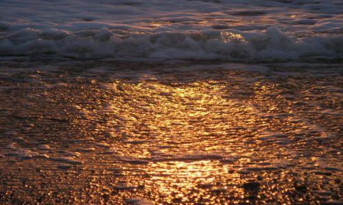 Zdjecie WłOCHY / Lacjum / Nad morzem / Zachód słońca