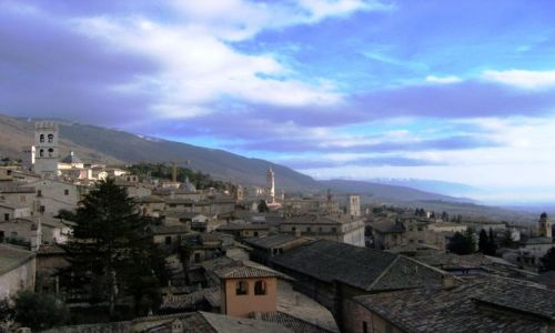 Zdjecie WłOCHY / Asyż / Assisi / Panorama