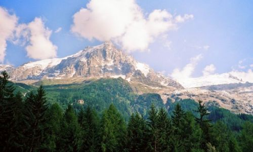 Zdjęcie WłOCHY / Francja / Francja / Mount Blanc od strony francuskiej