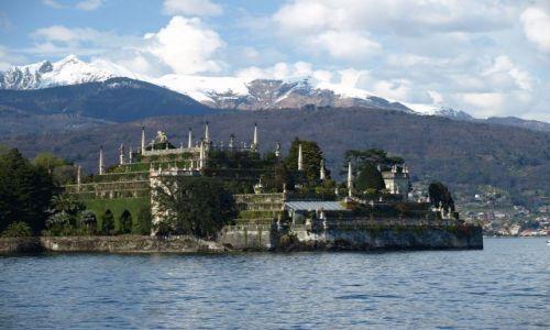 Zdjecie WłOCHY / Lago Maggiore / ze Stresy / isola Bella