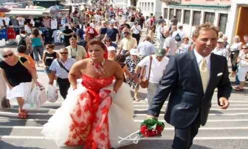Zdjecie WłOCHY / Wenecja / Idąc do mostu westchnień.... / Ślub w Wenecji....