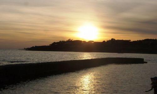Zdjecie WłOCHY / niedaleko Rimini / nad Adriatykiem / Zachód słońca w Riccione