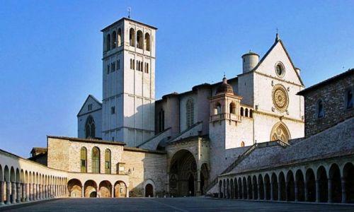 Zdjecie WłOCHY / Assisi / Bazylika św. Franciszka w Asyżu  / Święte miejsce Franciszka