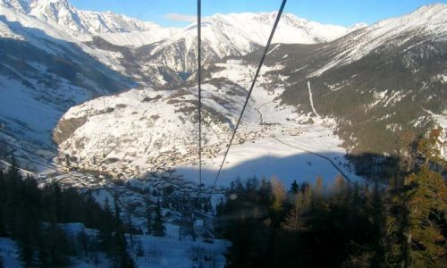 Zdjecie WłOCHY / dolina Aosty / Cervinia / w dole