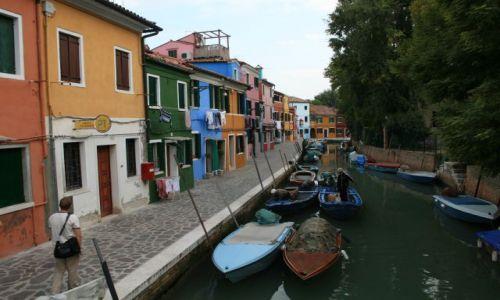 Zdjęcie WłOCHY / laguna Wenecka / Burano / pięlnie kolorowo