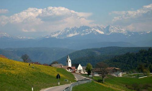 Zdjecie WłOCHY / Południowy Tyrol / Dolomity / Panorama Dolomu