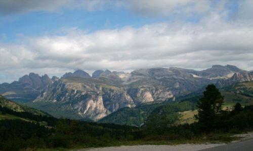 Zdjecie WłOCHY / Południowy Tyrol / Dolomity / Marmolada, najwyższy masyw Dolomitow