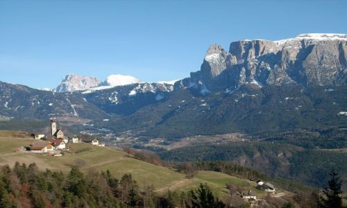 Zdjecie WłOCHY / Południowy Tyrol / Ritten / Scilar. Widok z