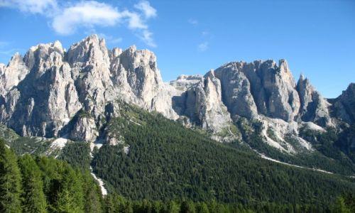 Zdjecie WłOCHY / Dolomity / Dolomity / gołe i porośniete