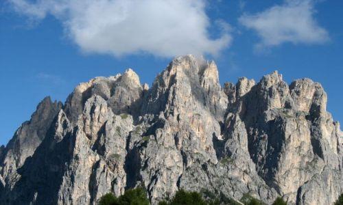 Zdjecie WłOCHY / Dolomity / Dolomity / da się wspiąć na takie szpice?