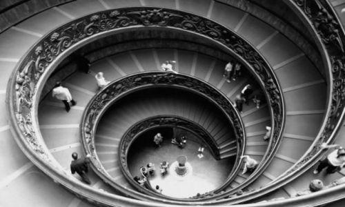Zdjecie WłOCHY / Lazio, Rzym / Watykan / Schody Watykańskie