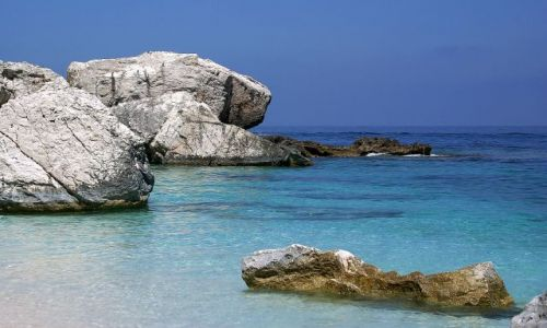 Zdjęcie WłOCHY / Sardynia / Cala Mariolu  / To nie Karaiby