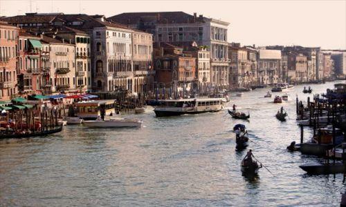 Zdjecie WłOCHY / - / Wenecja / Kanał Grande