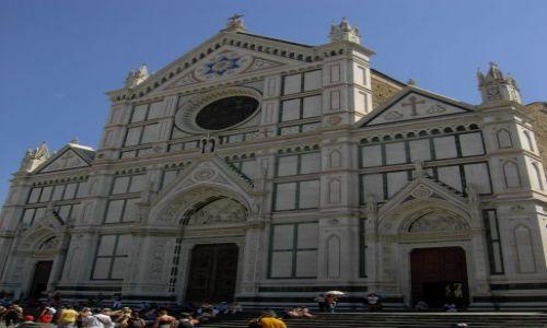 Zdjecie WłOCHY / środek kraju / Florencja / Kościół Św. Krzyża
