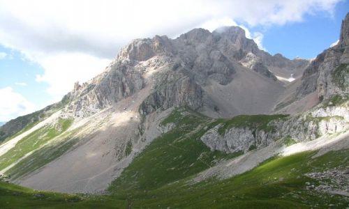 Zdjęcie WłOCHY / Dolomity / . / widok z przełęczy Forca Rossa