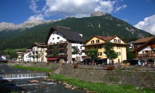 Zdjecie WłOCHY / Dolomity / Moena / Alpejskie miast