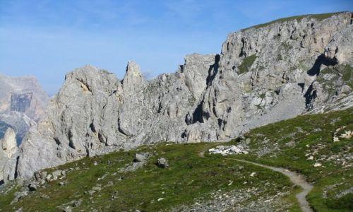 Zdjęcie WłOCHY / . / Dolomity / Przełęcz Selle