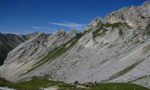 WłOCHY / . / Dolomity / Szlak do Malga Crocefisso