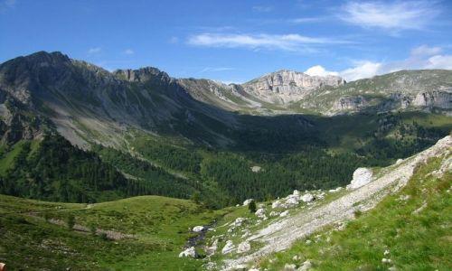 Zdjęcie WłOCHY / . / Dolomity / Szlak do Malga Crocefisso
