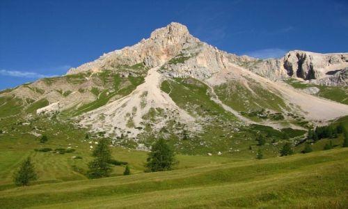 Zdjecie WłOCHY / . / Dolomity / W drodze na przełęcz Cirelle