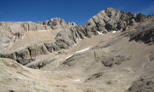 WłOCHY / . / Dolomity / Widok z przełęczy Cirelle