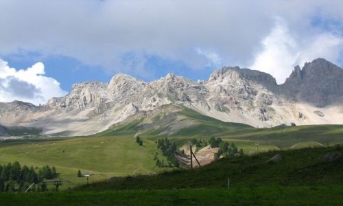 Zdjęcie WłOCHY / . / Dolomity / Dolina San Pelegrino