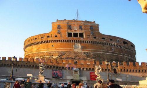 WłOCHY / Lacjum / Rzym / Zamek Anioła