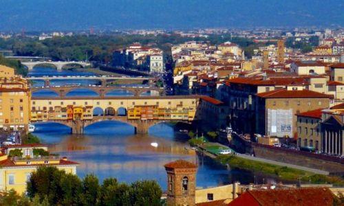 Zdjęcie WłOCHY / Toskania / Florencja / Most Złotników
