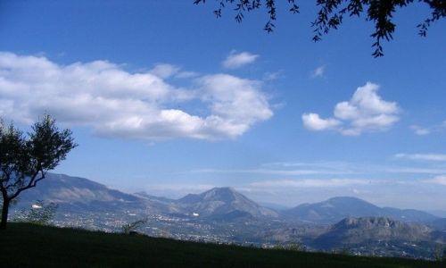 Zdjęcie WłOCHY / Lacjum / Monte Cassino / Widok ze wzgórza Monte Cassino
