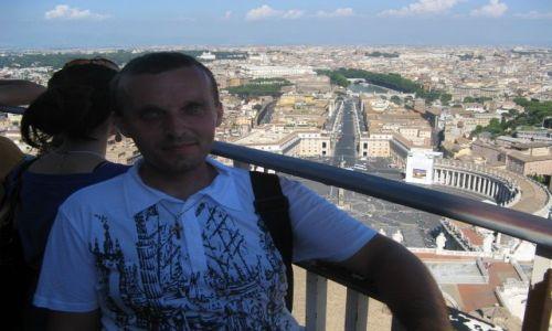 Zdjecie WłOCHY / Watykan / Plac św.Piotra / Widok z dachu bazyliki św.Piotra