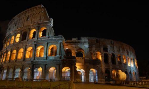 Zdjęcie WłOCHY / Lacjum / Roma / COLOSEUM