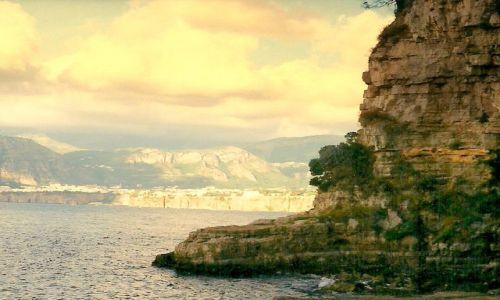 Zdjęcie WłOCHY / Neapol / Sorento / Widok z Sorento na zatokkę neapolitańską