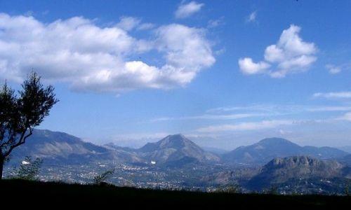 Zdjęcie WłOCHY / Apeniny Środkowe / Monte Cassino / widok z Klasztoru