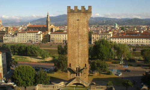 Zdjęcie WłOCHY / Toskania / Florencja / Widok na Florencje