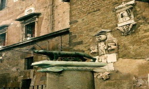 Zdjęcie WłOCHY / Lacium / Rzym / wilczyca kapitolińska