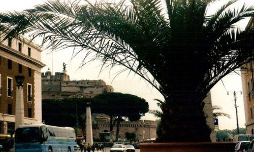 Zdjęcie WłOCHY / Lacium / Rzym - Watykan /  Mauzoleum Hadriana - Zamek  św.Anioła z Watykanu