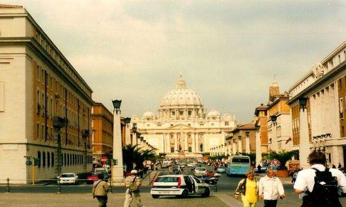 Zdjęcie WłOCHY / Lacjum / Rzym - Watykan / widok znany