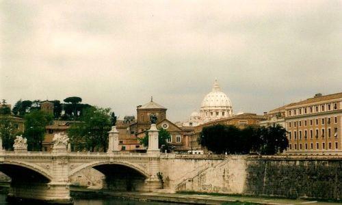 Zdjecie WłOCHY / Lacjum / Rzym / mosty Rzymu