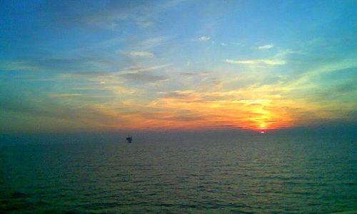 Zdjęcie WłOCHY / Veneto / Wenecja /  w zatoce weneckiej