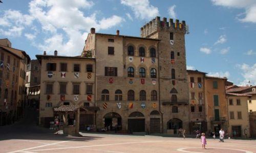 Zdjecie WłOCHY / Toskania / Arezzo / Plac Gonitwy Sa