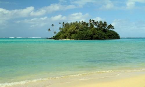 WYSPY COOKA / Wschód wyspy / Wschód wyspy / Wysepka
